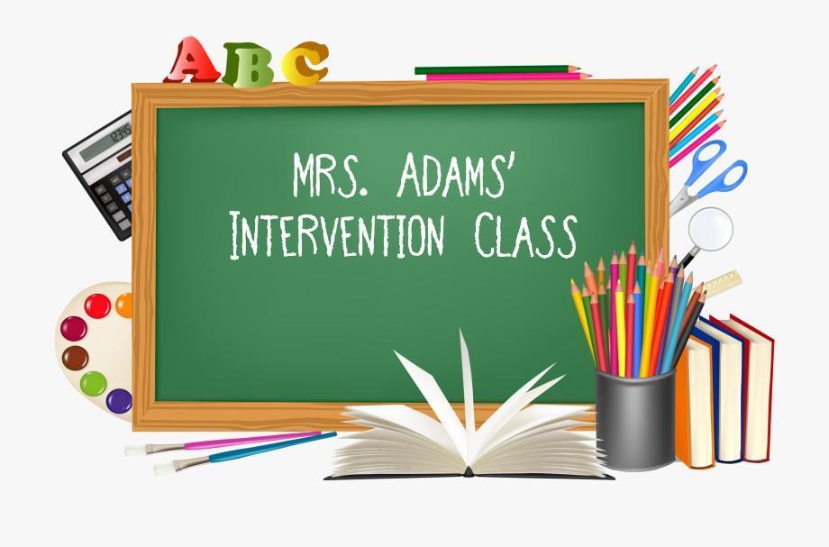 Adams Intervention Class