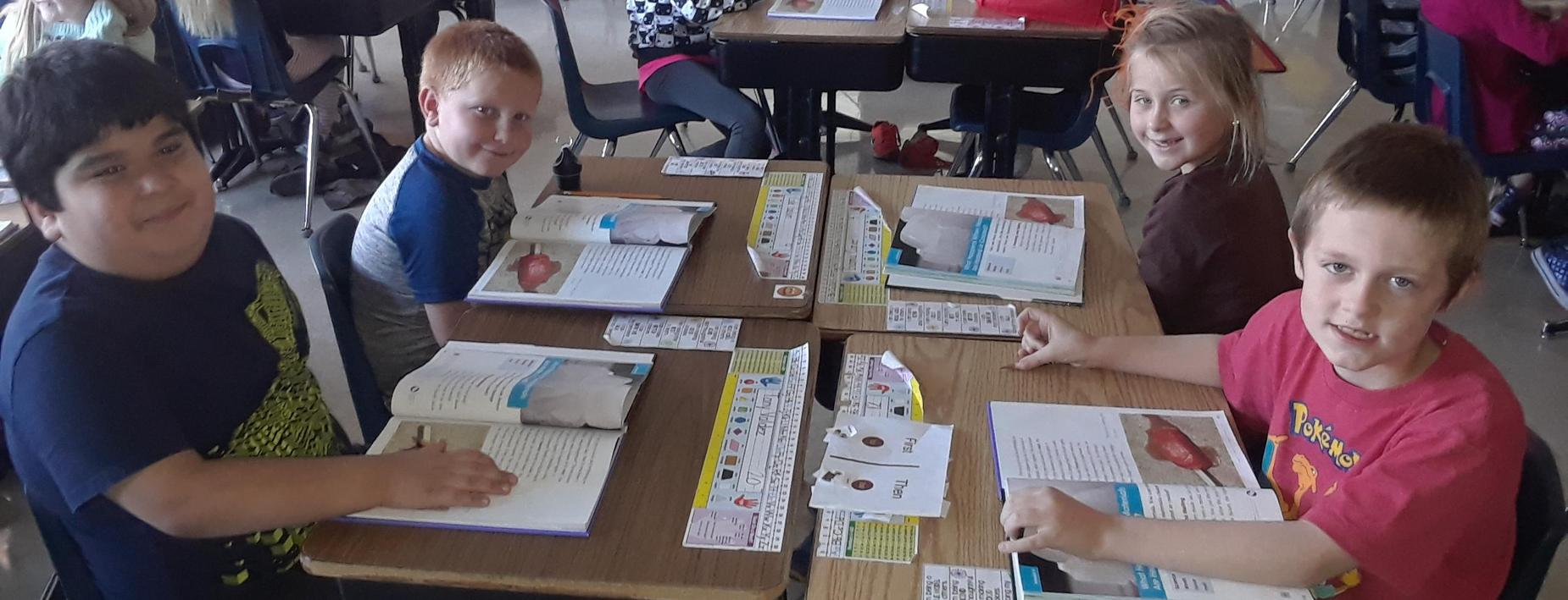 Learning in 2nd grade