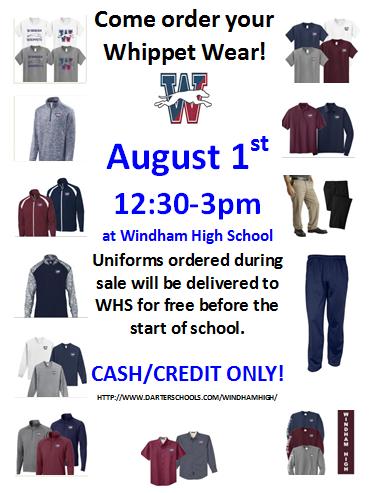 Whippet Wear Uniform Sale Thumbnail Image
