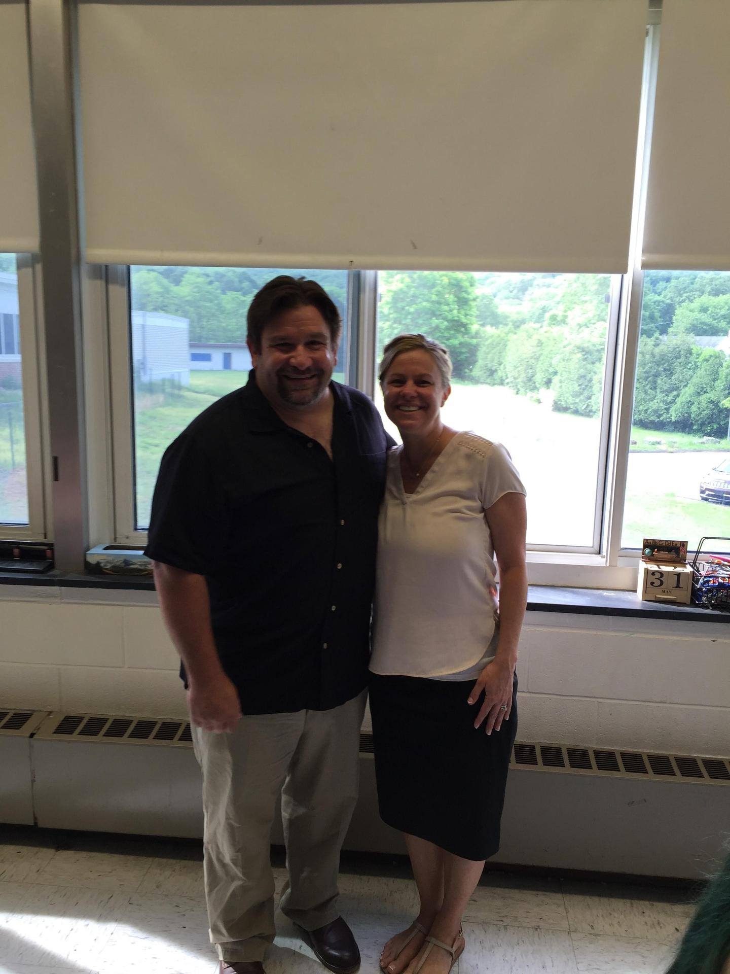 Mr. Marenghi and Mrs. Pompei