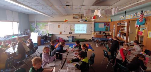 1st grade room