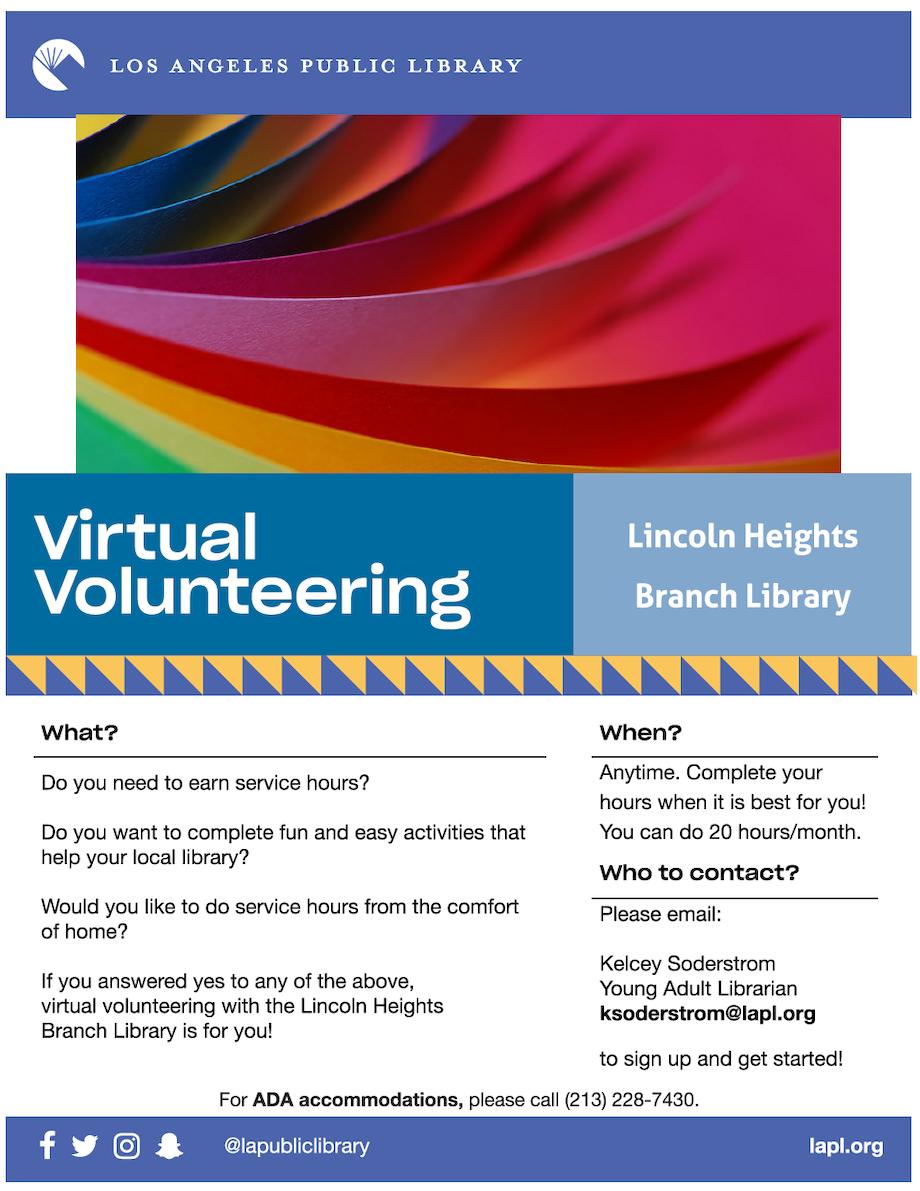 virtual voluteering