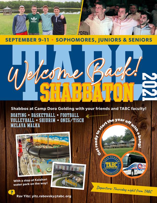 Welcome Back Shabbaton Featured Photo