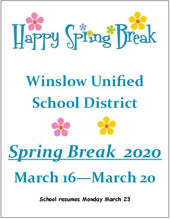 Spring Break 2020 Featured Photo