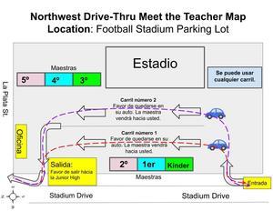 El mapa de Conocer al Maestro Conduciendo su Vehículo
