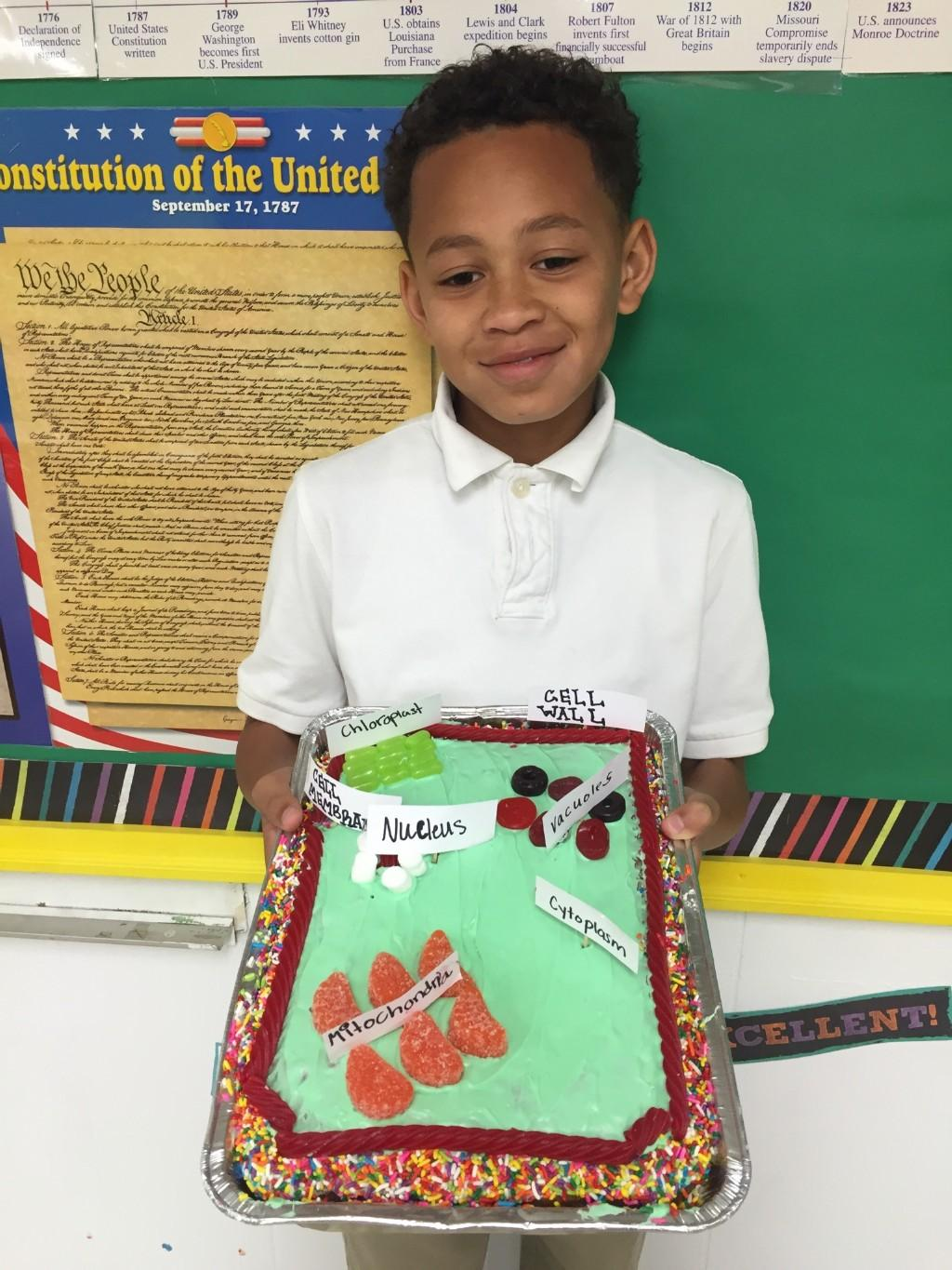 4th grade project on cells