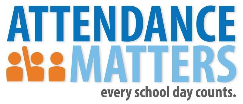 Blue Attendance Matters, every school day counts
