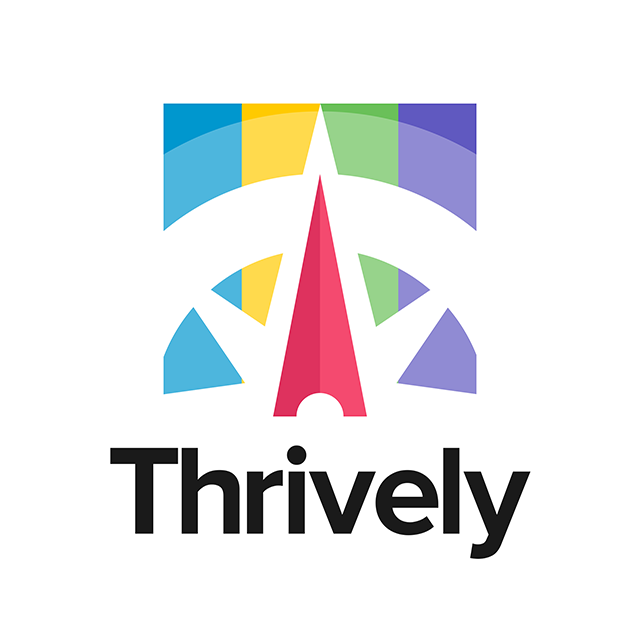 Logo for Thrively