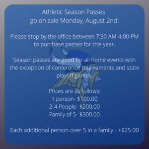 athletic season passes