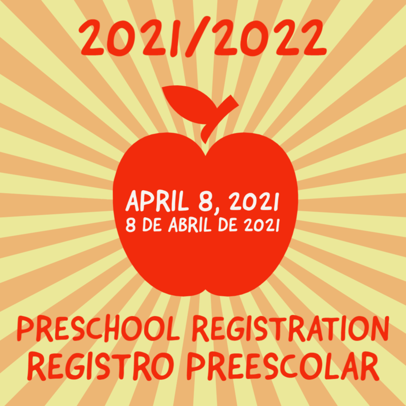 21/22 Preschool Registration Image