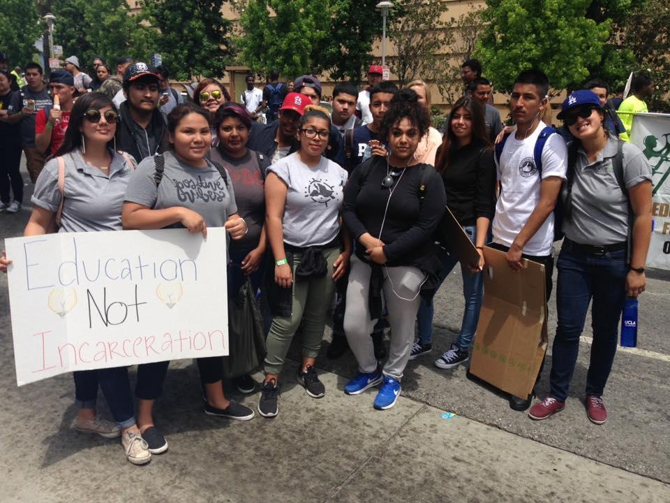 South LA students protesting
