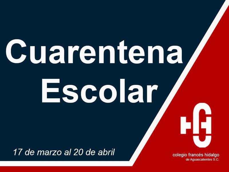 CUARENTENA ESCOLAR Featured Photo