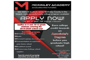 McKinley Academy-apply now