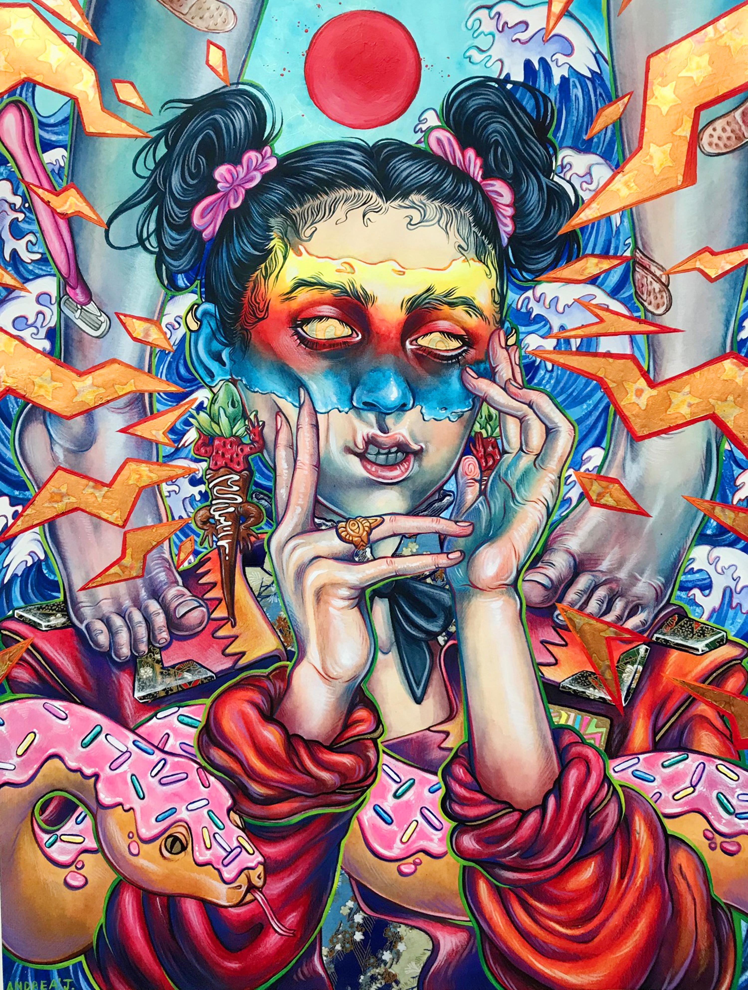 Andrea Flores' Art