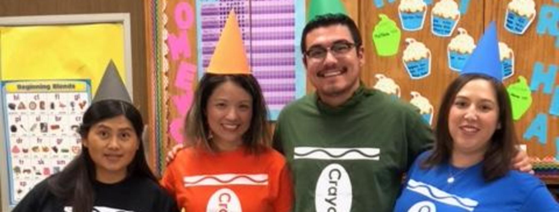 Marguerita Crayons on Halloween