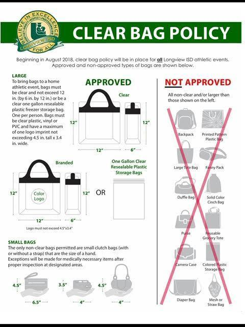 Clear Bag Requirements