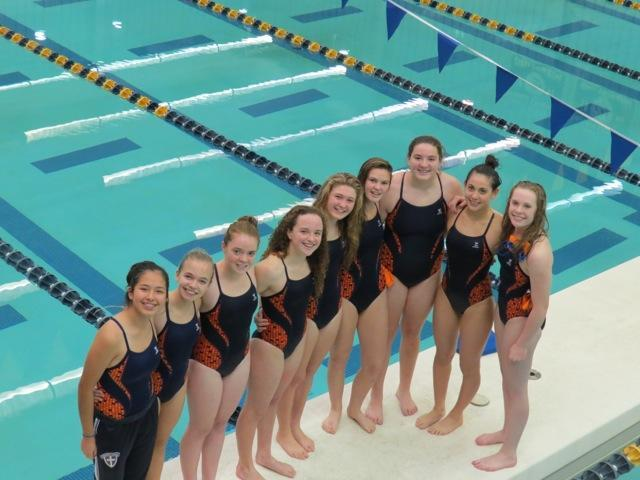 Swim team 2013