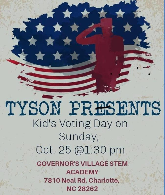 1st Grade Student Tyson presents Kid's Voting Day! Featured Photo