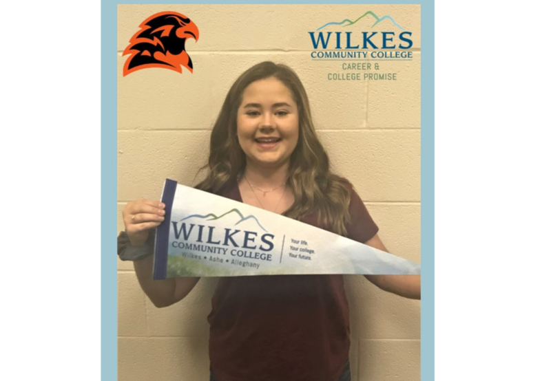 CCP Student of the Month: September  Congratulations!  Sarah W.  West Wilkes High School Thumbnail Image