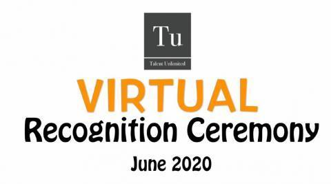 2020 Talent Unlimited Virtual Recognition Ceremony