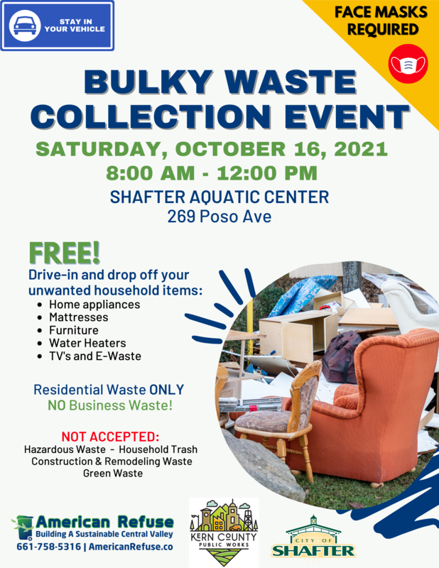 Bulky Waste Event in Shafter Thumbnail Image