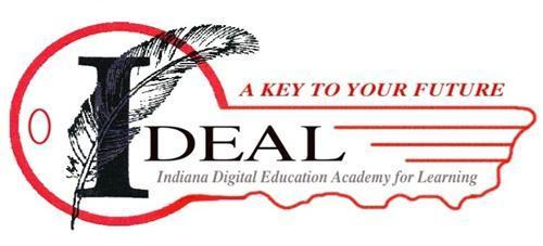 Indiana Digital Education Academy for Learning.  A key to your future.