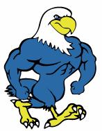 UME Eagle Mascot Clipart