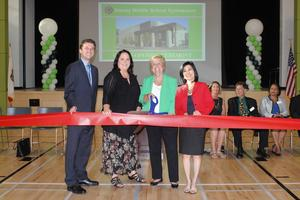 WSD Board Cutting Ribbon