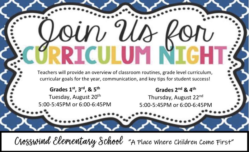 Curriculum Nights Featured Photo