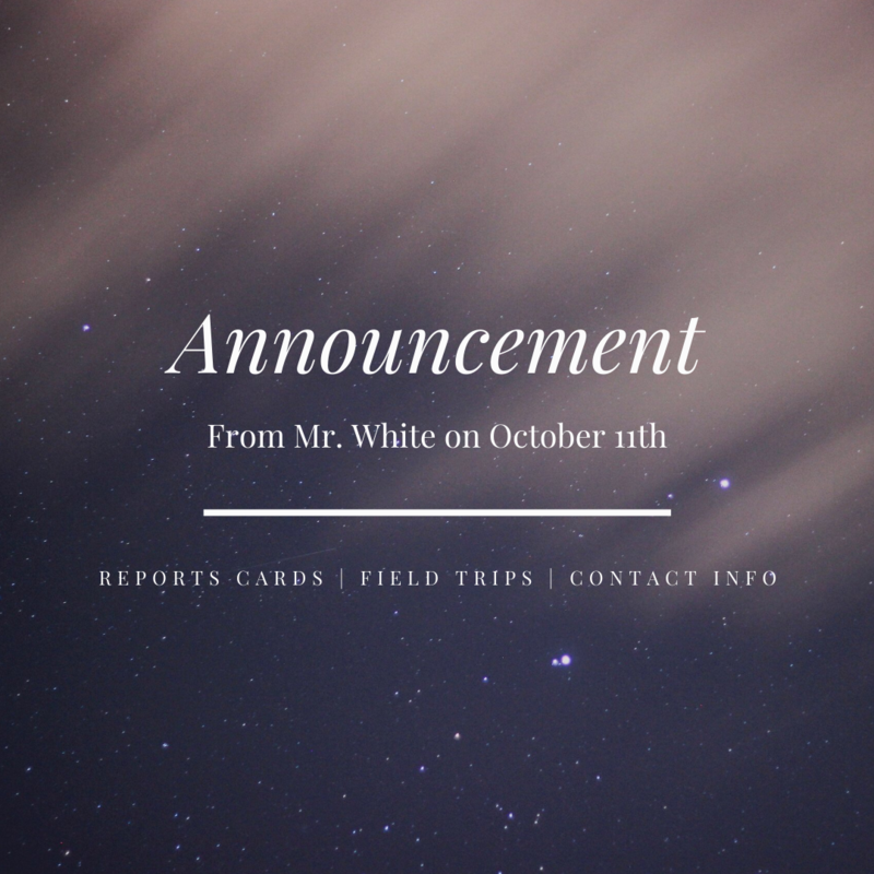 Announcement Featured Photo