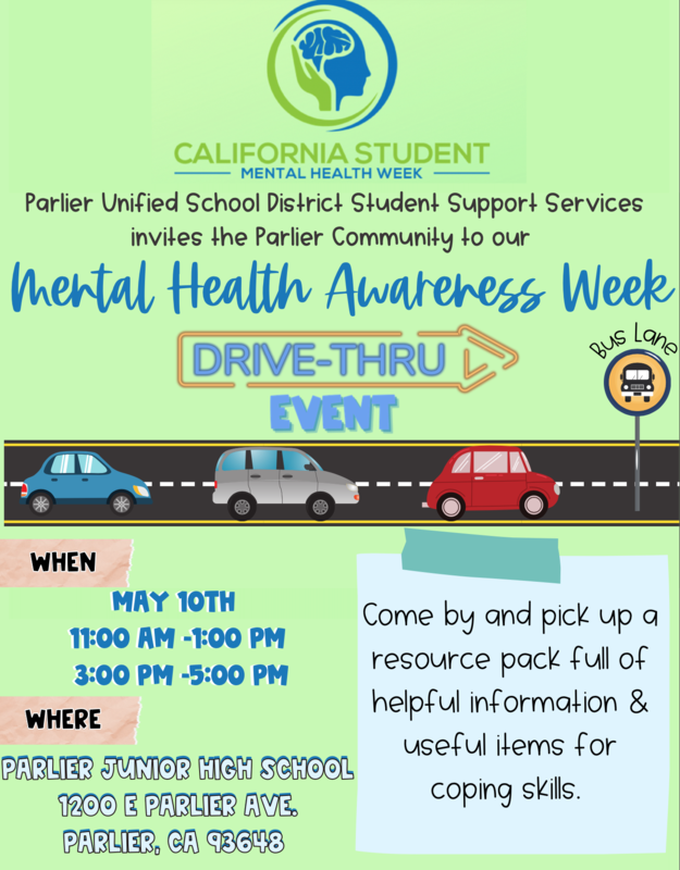 MENTAL HEALTH AWARENESS WEEK-DRIVE THRU EVENT Featured Photo