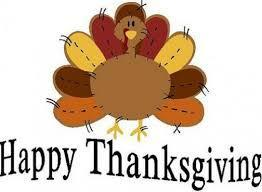 clipart of turkey wishing a happy thanksgiving