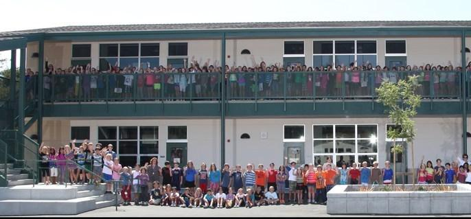 whole school portrait
