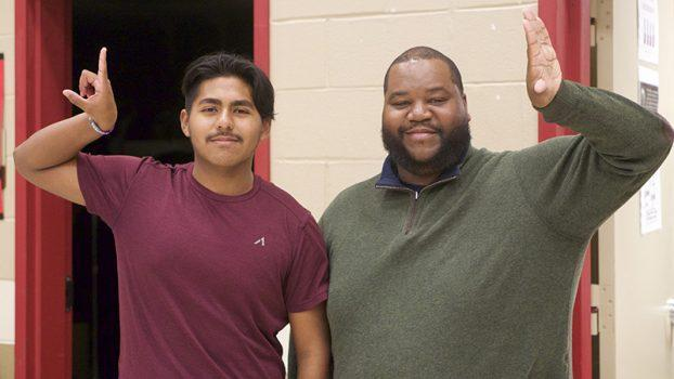 BRIGHT FUTURES — Memorial senior Joaquin Sanchez leads others to give back Featured Photo