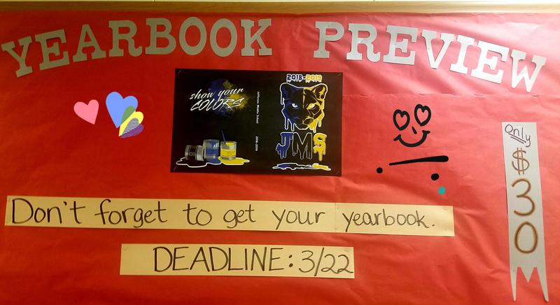 Yearbook Order Deadline Approaching Quickly! Thumbnail Image