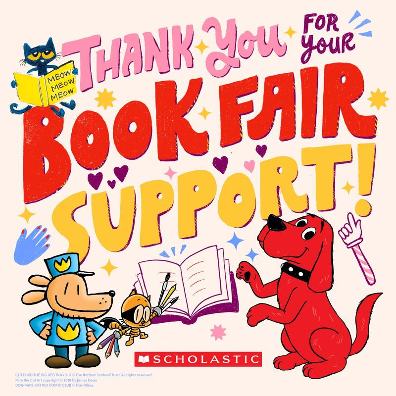 Thank you for supporting the book fair!