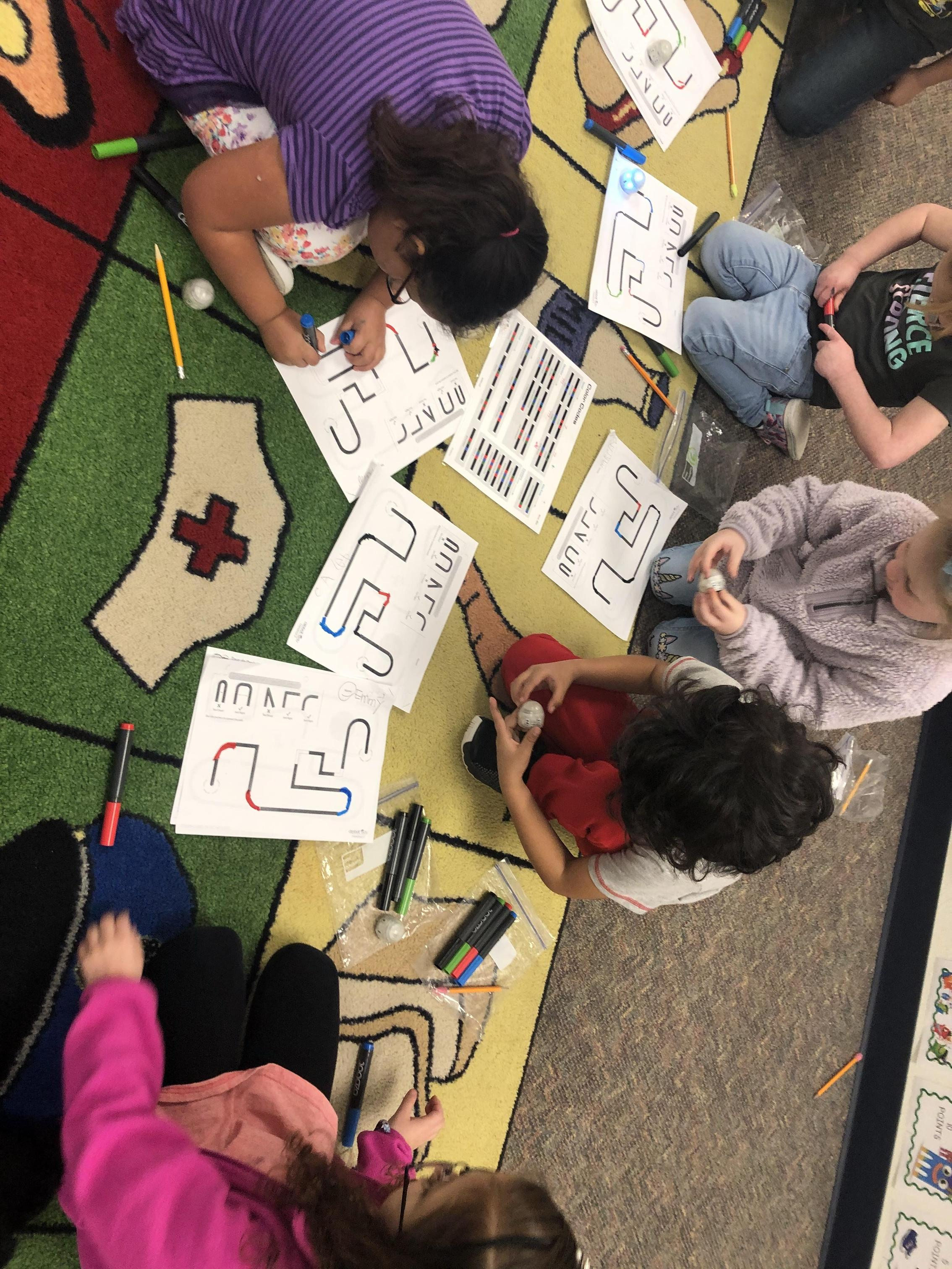 Coding with Ozobots