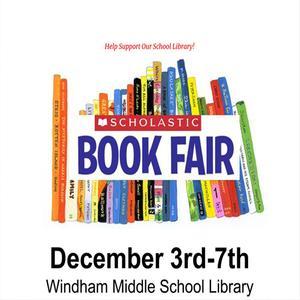 WMS Book Fair Poster