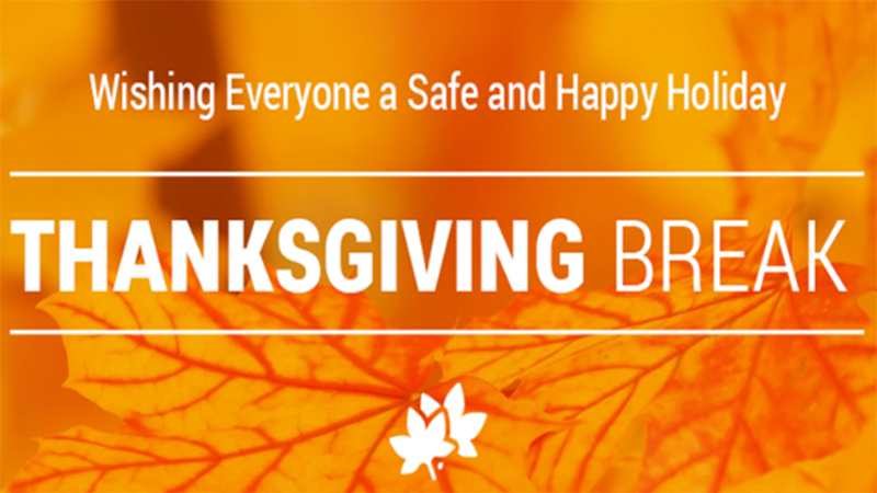 Distance Learning Plan, Thanksgiving and Christmas Breaks Featured Photo