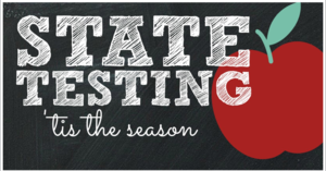 State testing clipart