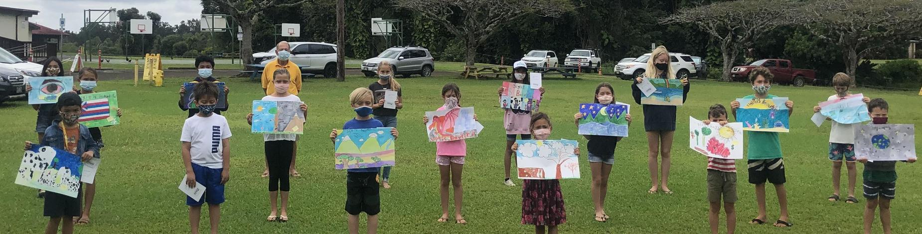 Lions Club Sight is Beautiful poster contest winners!