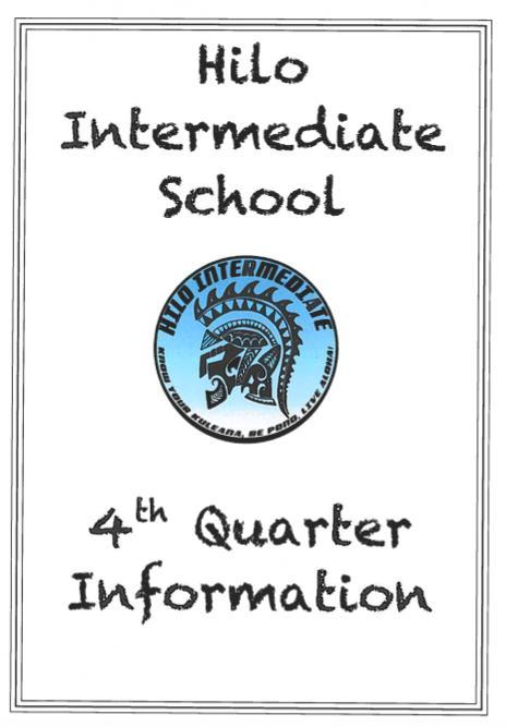 Hilo Intermediate Quarter 4 Information Featured Photo