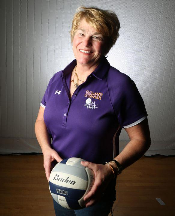 PURPLE REIGN: Dodge named The Monitor's All-Area Volleyball Coach of the Year Image