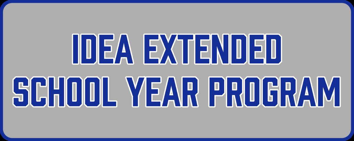 IDEA ESY Program button