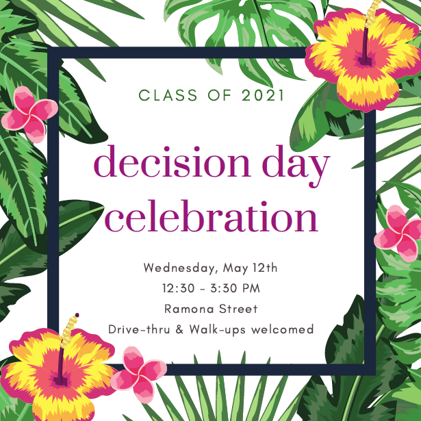 Decision Day Flyer