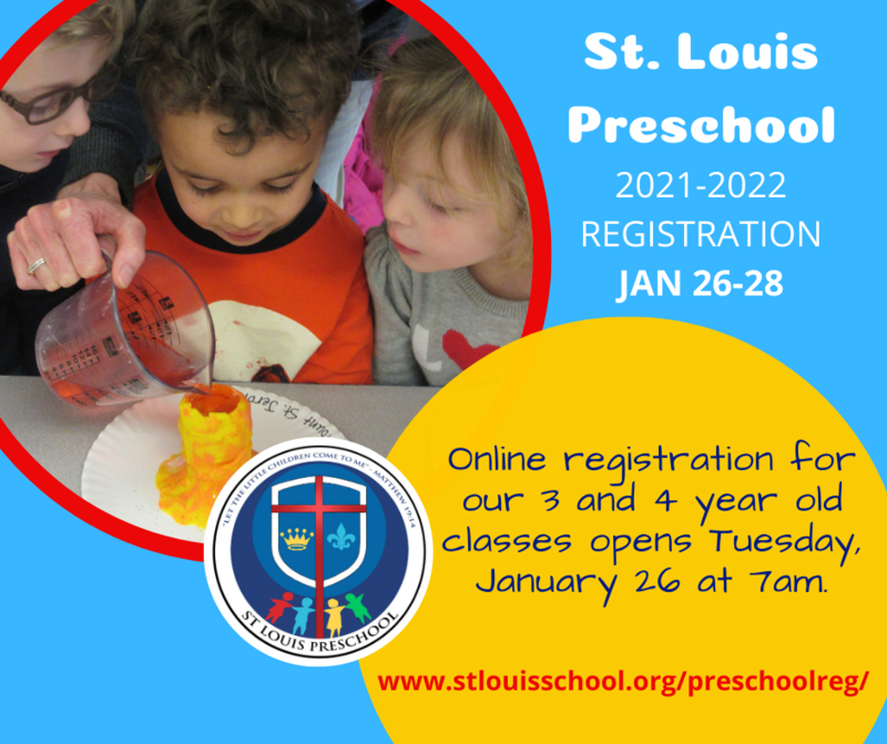 St. Louis Preschool Registration - January 26-28 Featured Photo