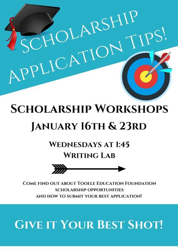 Scholarship Workshop Jan 16th & 23rd Thumbnail Image