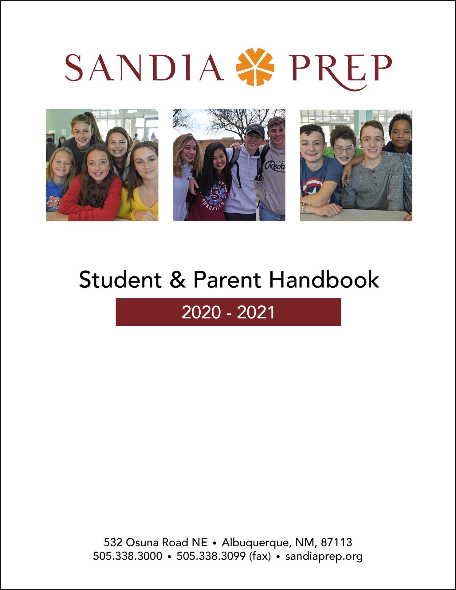 2020 - 2021 Parent and Student Handbook