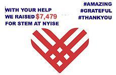 Twitter link to #GivingTuesday - $7,479 raised