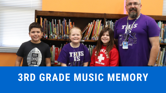 3rd grade music memory